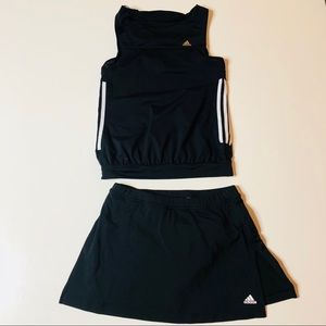 🎾🎾 Adidas tennis skirt and matching top 🎾🎾